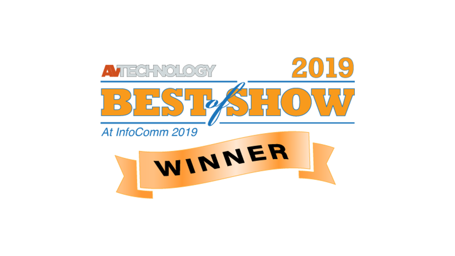 AV Technology Best of Show at InfoComm 2019
