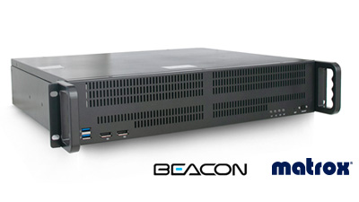 Beacon MVM Multiviewer Matrox Core tech
