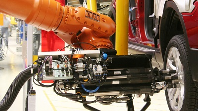 Machine vision-based assembly system in action