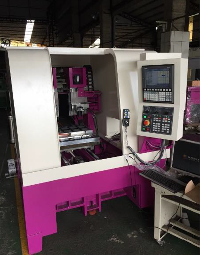 CNC machine tool augmented with vision technology by G4