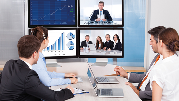 AV over IP Solutions for Corporate Communications