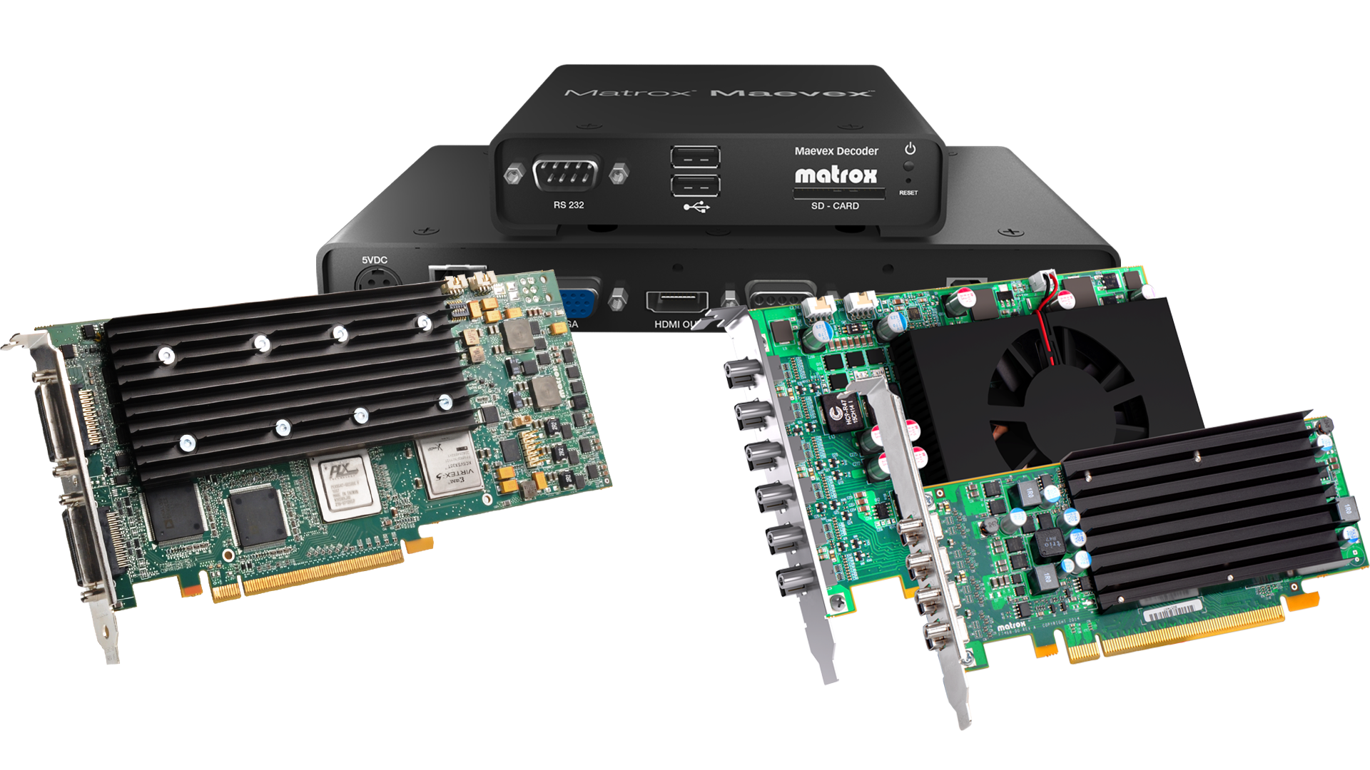 InfoComm MEA 2014: Latest Matrox Graphics Products to Be Used by Industry Leaders to Drive Multi-Display Signage, Distribute AV-over-IP, and Capture/Display Video Wall Content