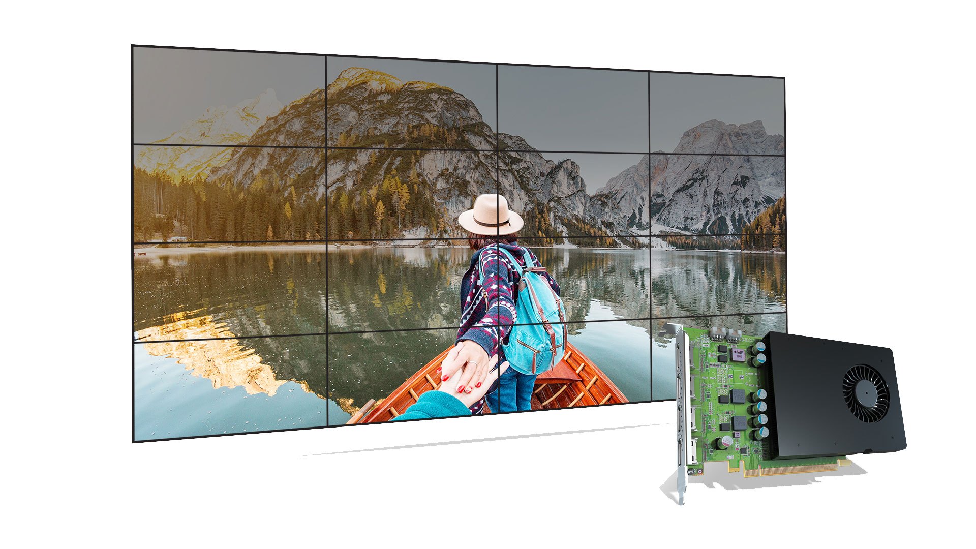 D1450 Graphics Cards Video Wall