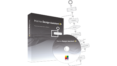 Matrox Design Assistant X is the latest version of the field-proven flowchart-based software