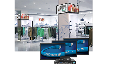 Drive digital signage across multiple displays from one computer