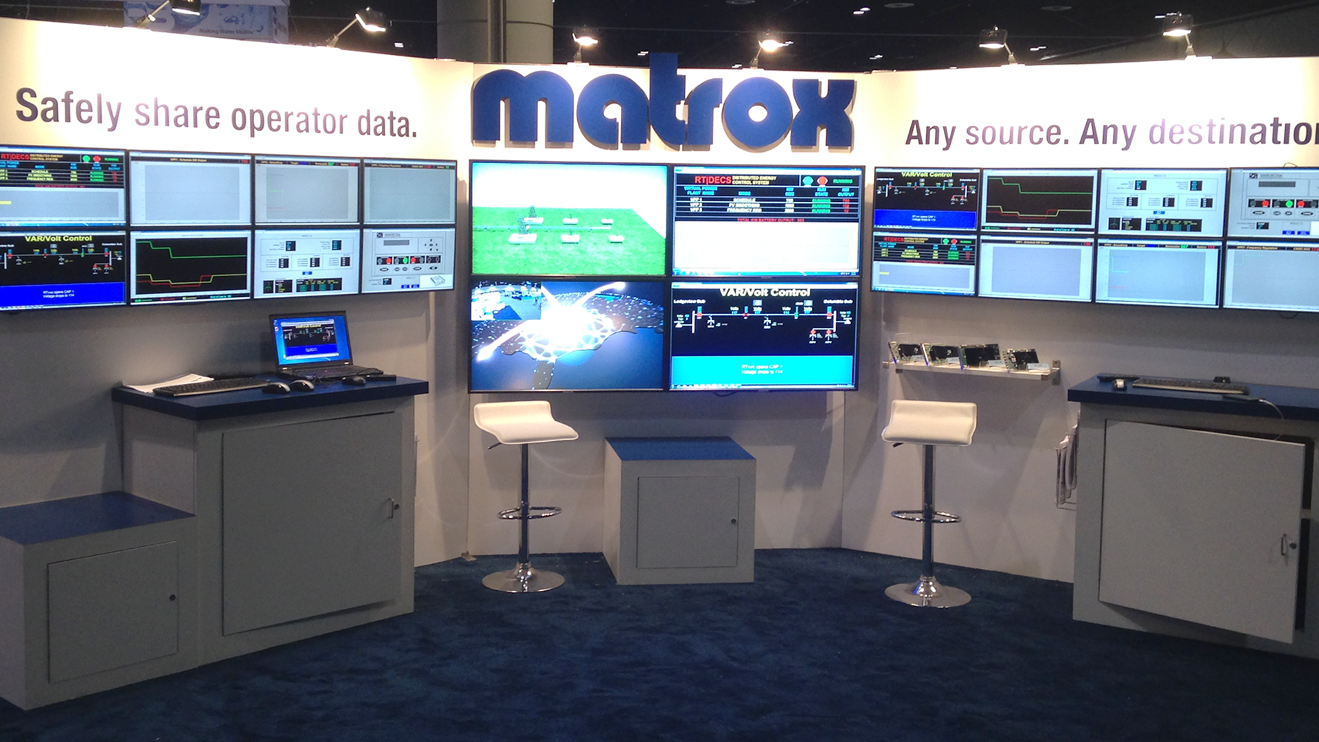 Matrox on the Grid at DistribuTECH 2020
