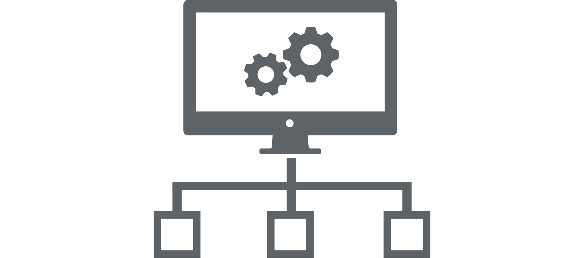 Distributed Model Icon
