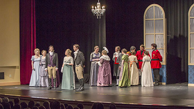 Pride and Prejudice performed at the Berry Performing Arts Center