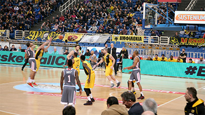 AEK BC Game: Interviews & Peripheral Actions Streamed Live Using Matrox Monarch HD Encode