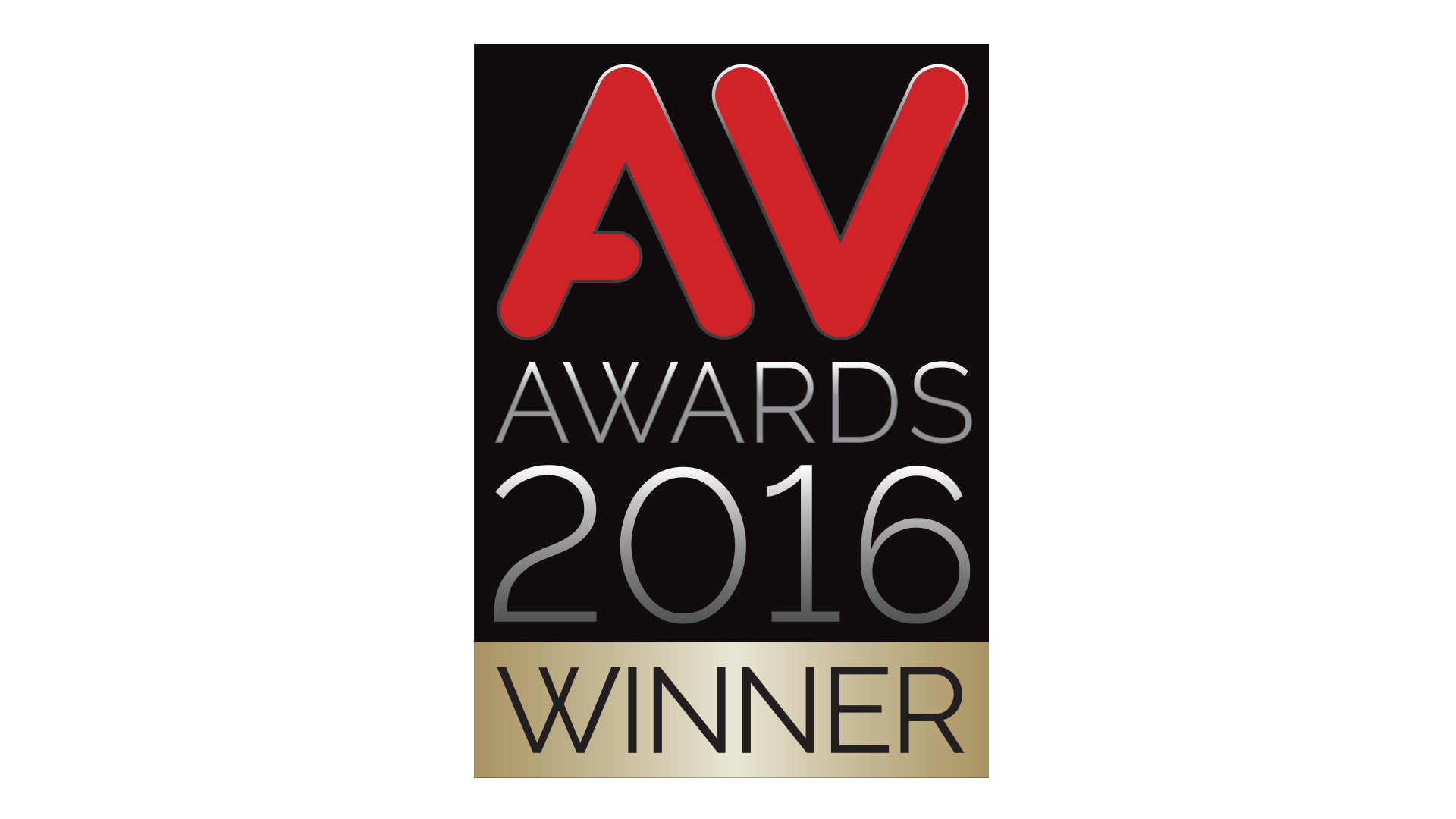 AV Awards 2016 Winner