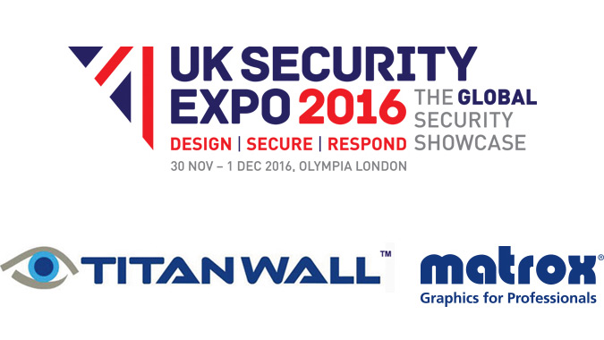 C-Series and Mura IPX Graphics Cards to Be Demonstrated with TITAN WALL at UK Security Expo 2016