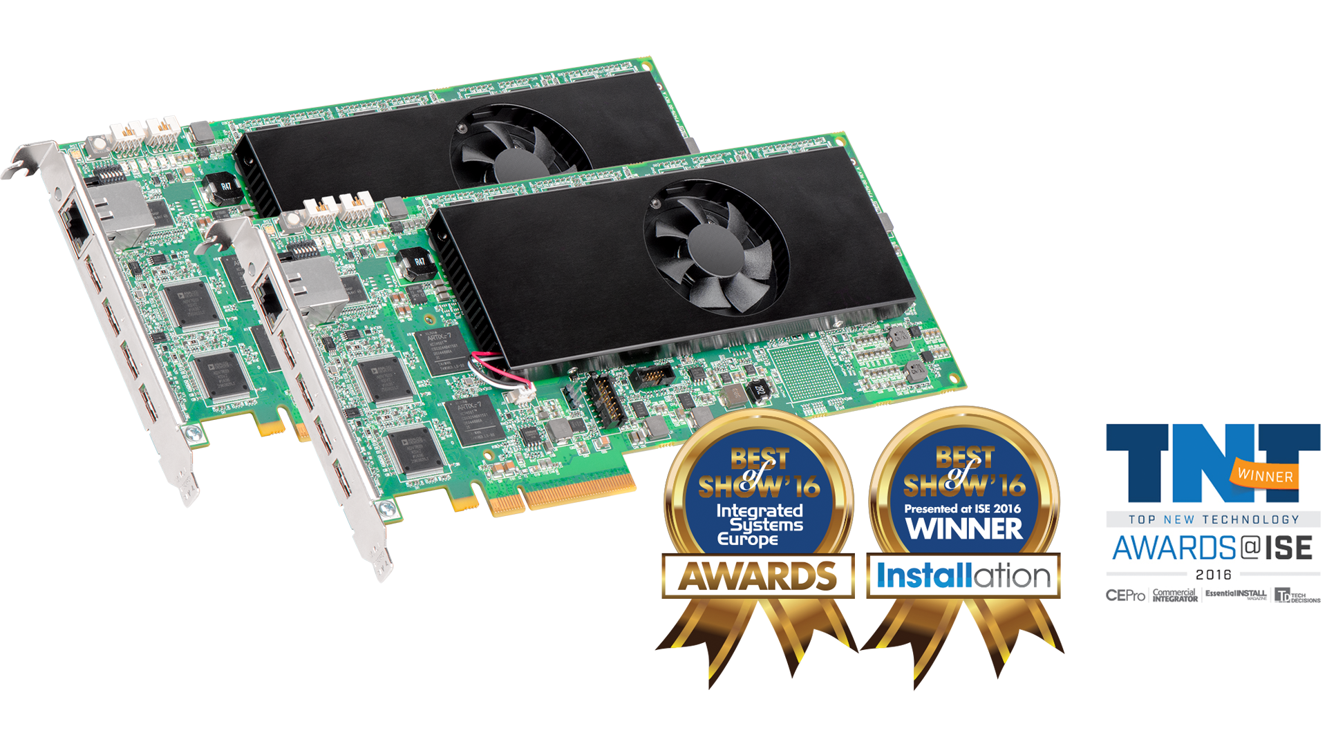 Mura IPX - Best of Show Awards - Integrated Systems Europe 2016