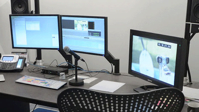 Pixcom Installed Multiple Matrox Avio Transmitter/Receiver Pairs to Extend Dual-Hd Desktops and Peripherals to Different Editing Studios