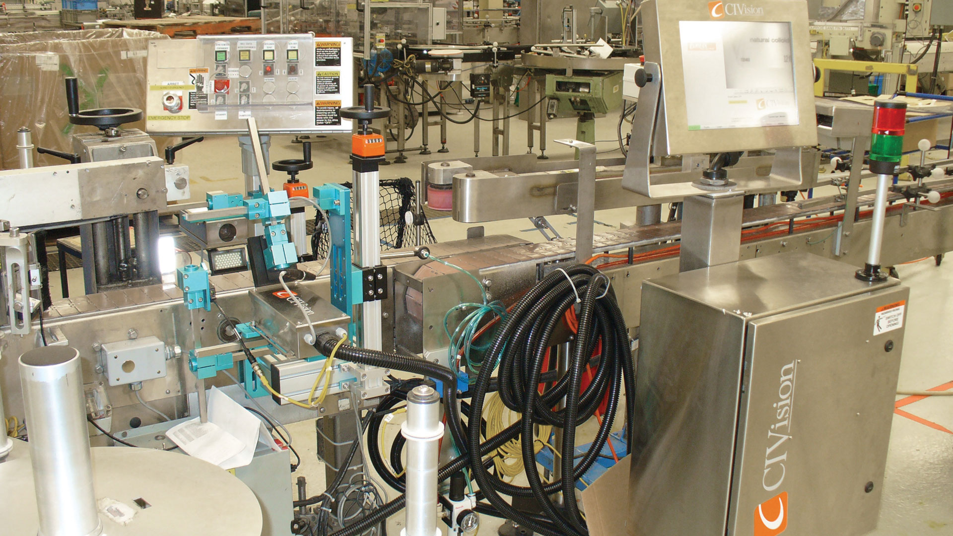 CI Vision's Pro Series label inspection system