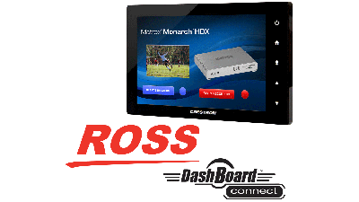 Monarch HDX - Integrate with Crestron or ROSS DashBoard