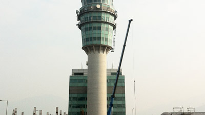 Maevex provides HKCAD headquarters with a camera view from the airport's air traffic control tower.