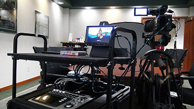 Huney-Vaughn Court Reporters use the Matrox Monarch HD H.264 appliance for their deposition videos.