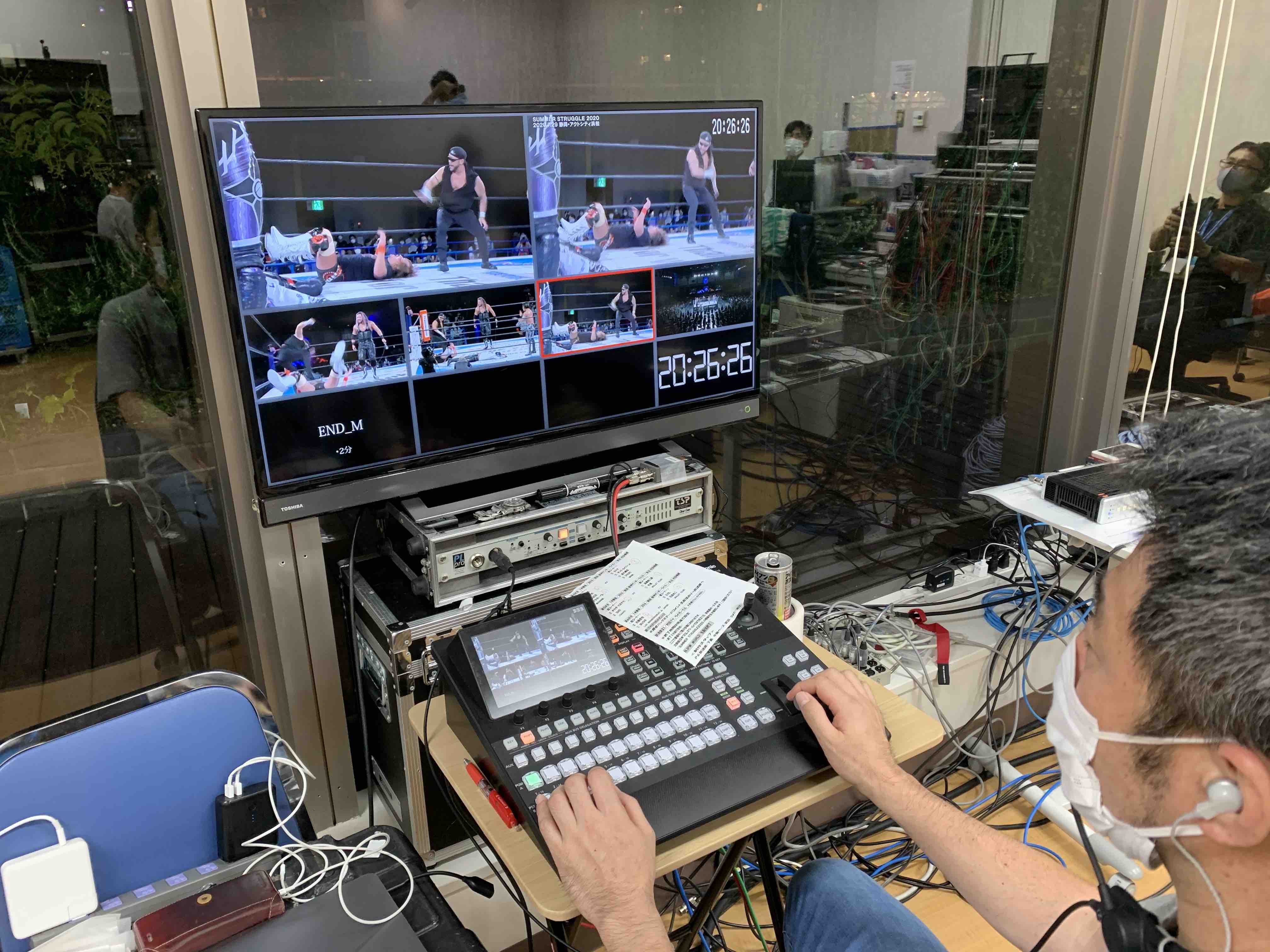 Tokyo Sound Production broadcast engineer