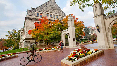Indiana University's Bloomington campus.