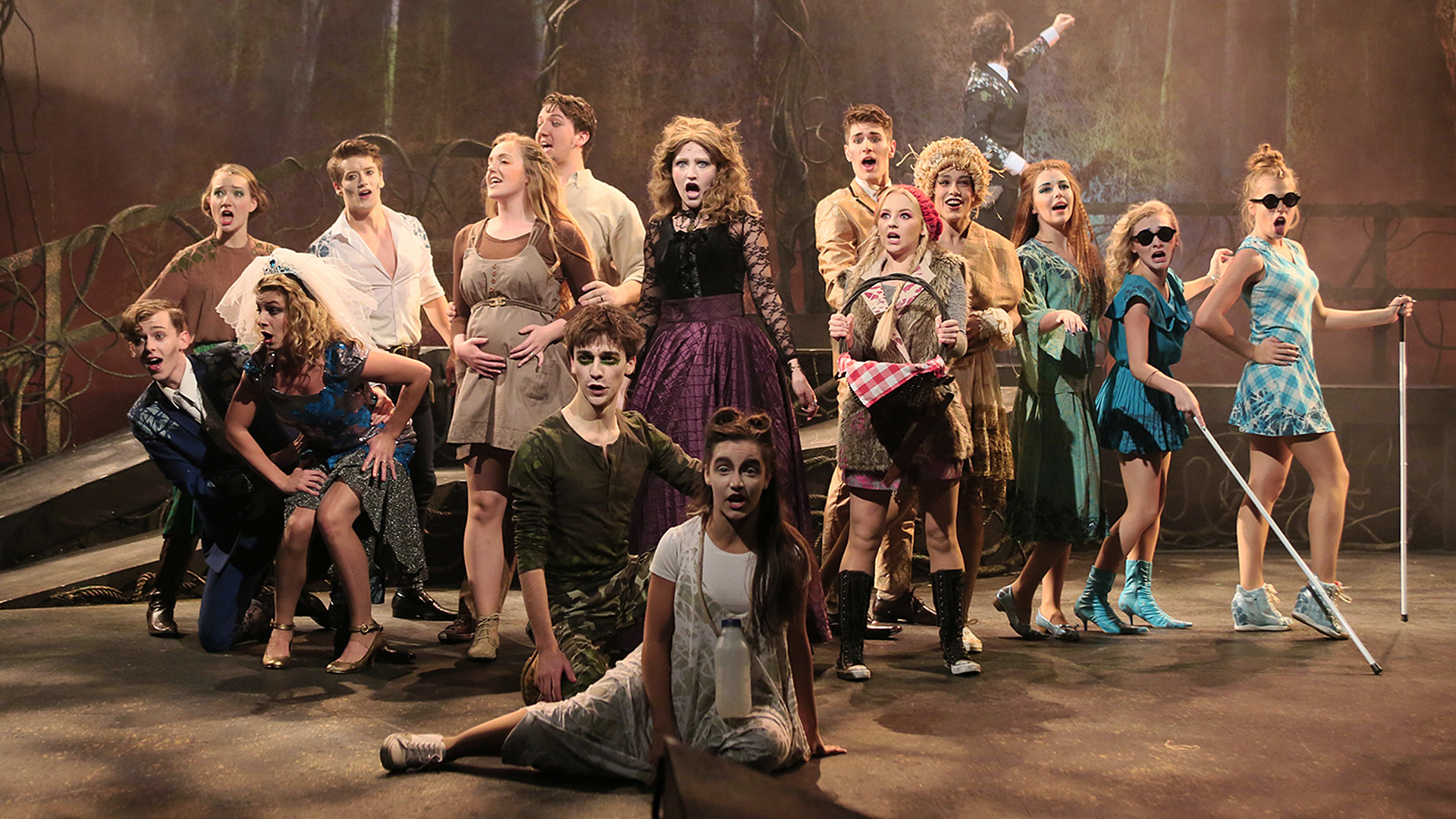 Into the Woods, a show performed by Guildford School of Acting students.