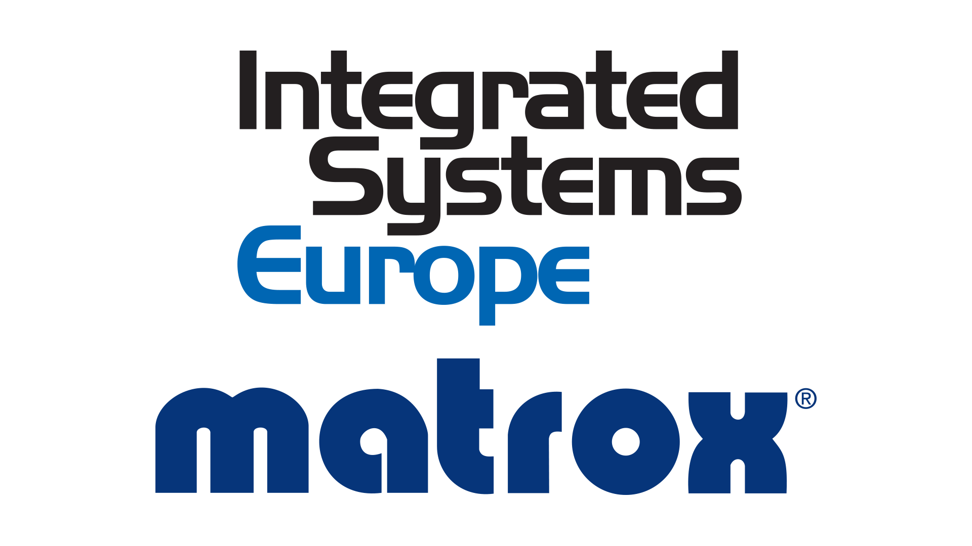 Integrated Systems Europe & Matrox