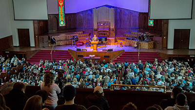 Church Service Streamed With Monarch HDX