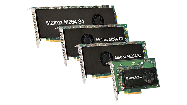 The m264 family of H.264 Codec Cards