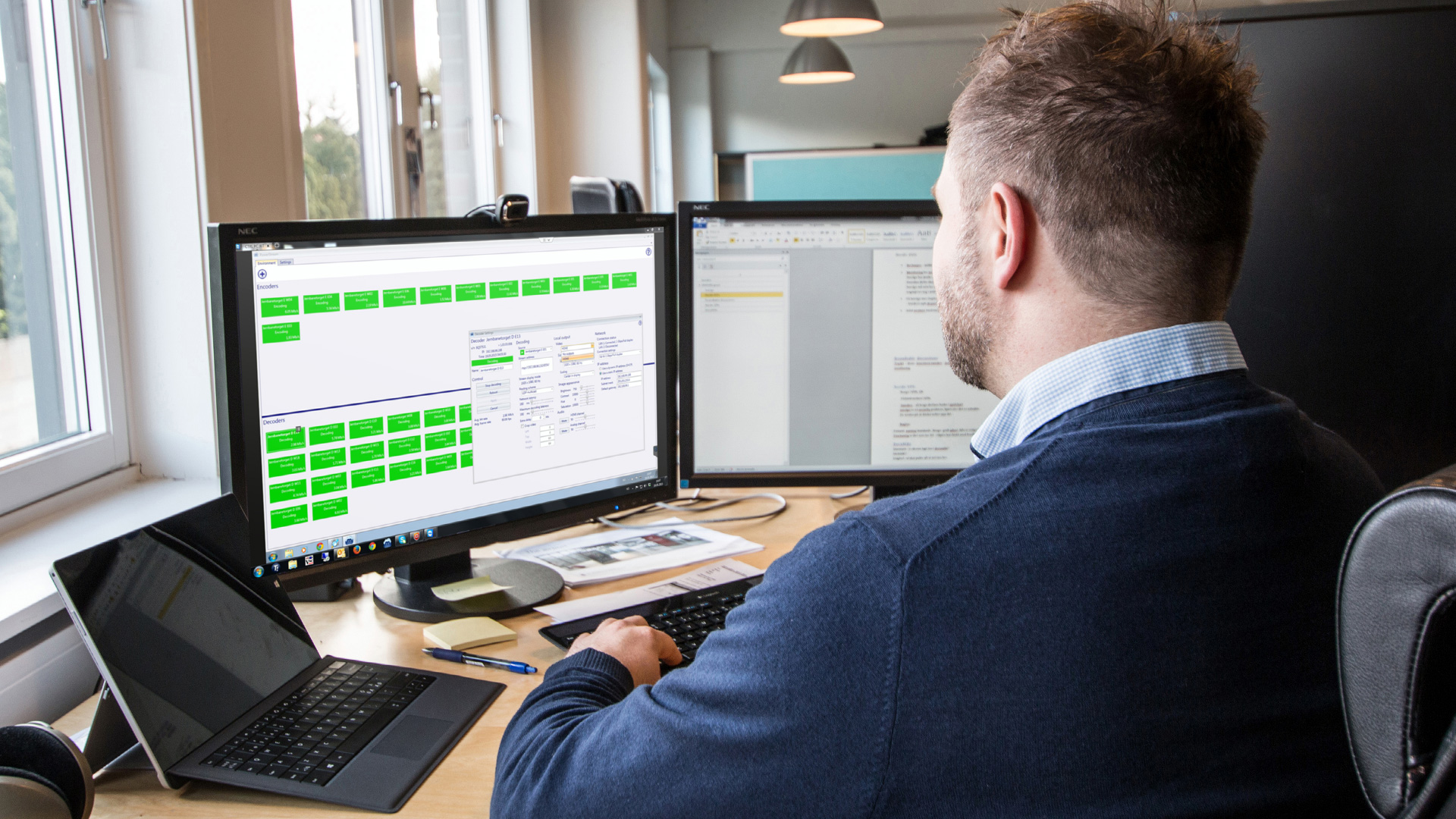 The operations center, located at Clear Channel Norway's own Oslo office, oversees all operations across the entire network with Maevex PowerStream.