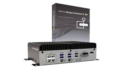 Matrox 4Sight EV6 with Design Assistant X