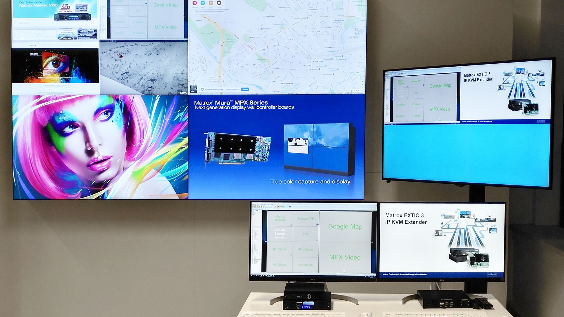 Sahara Benelux's New Technology  Demo Room Features Several Matrox-Powered AV-Over-IP Ecosystems