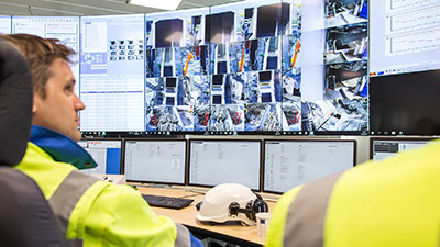 Metsä Fibre uses Matrox's leading video wall technologies to monitor process control operations.