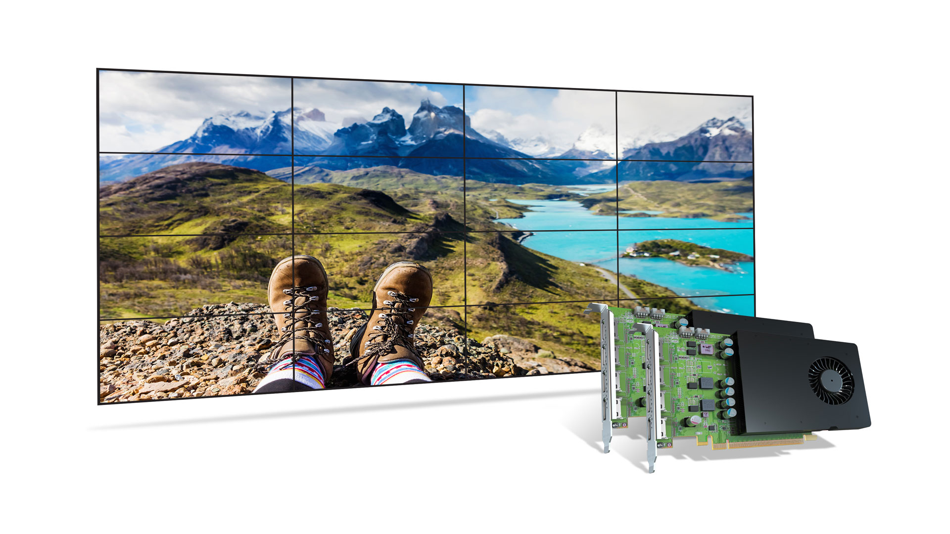 Matrox D1480 Video Wall Card