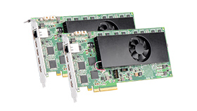 Matrox Mura™ IPX Series 4K Capture and IP Encoder & Decoder Cards