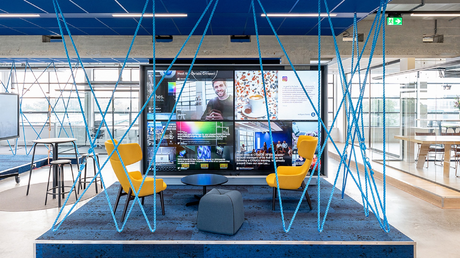 Sahara Benelux's New Offices Boasts Several Matrox-Inspired Designs