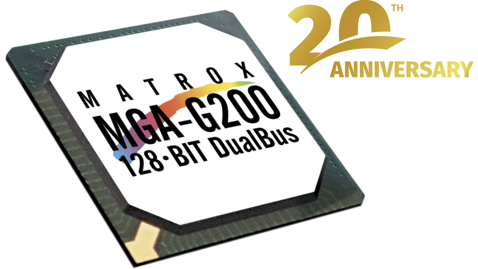 Matrox G200 celebrates two decades of graphics excellence.