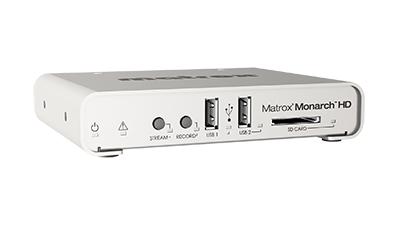 Matrox Monarch HD Streaming and Recording Appliance