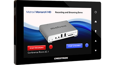 Monarch HD Integrate with Crestron