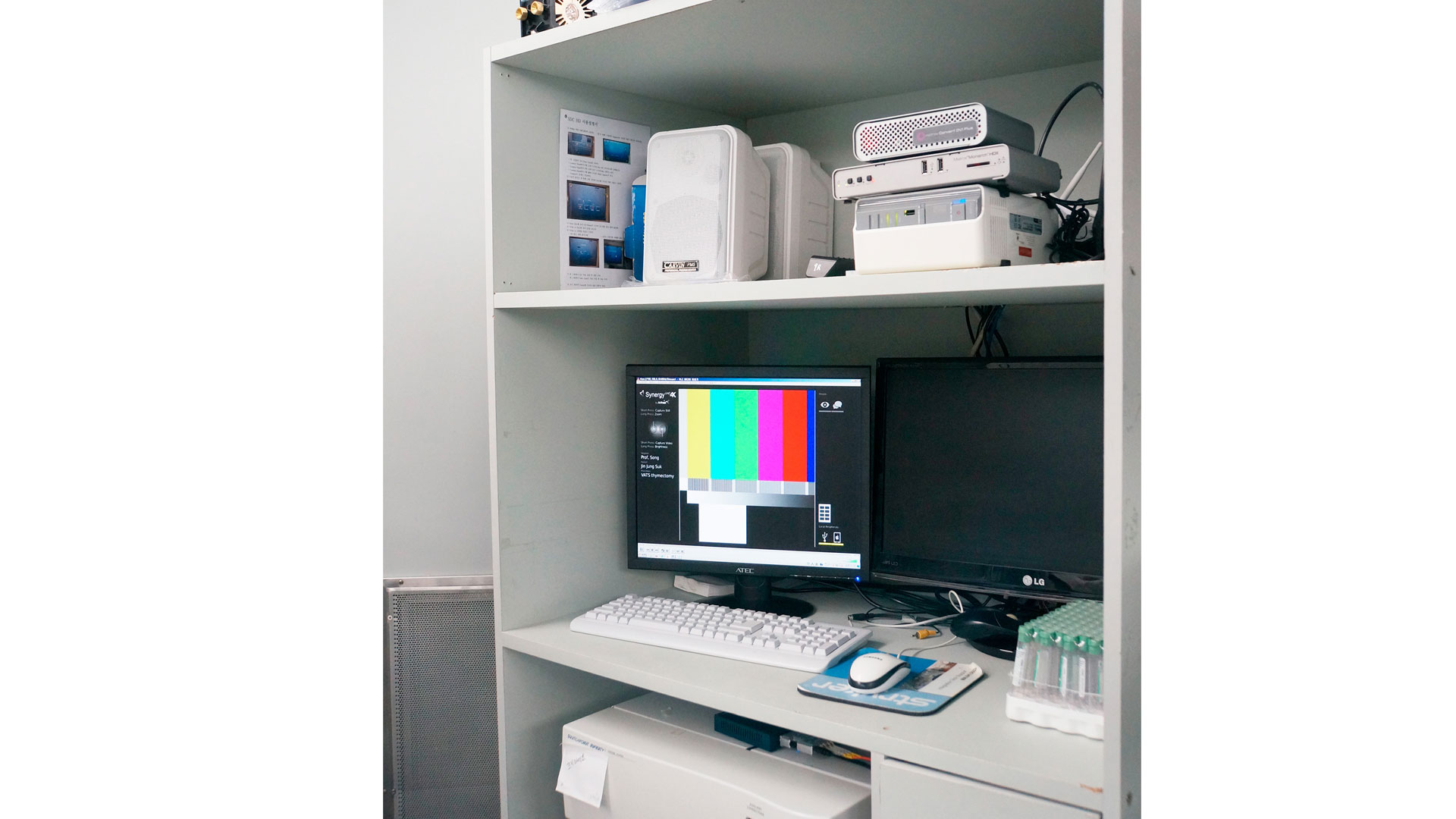 Matrox Monarch HDX H.264 File Splitting Feature Allows Dr. Song Sangyoon to Save Files in Segments While Recording.