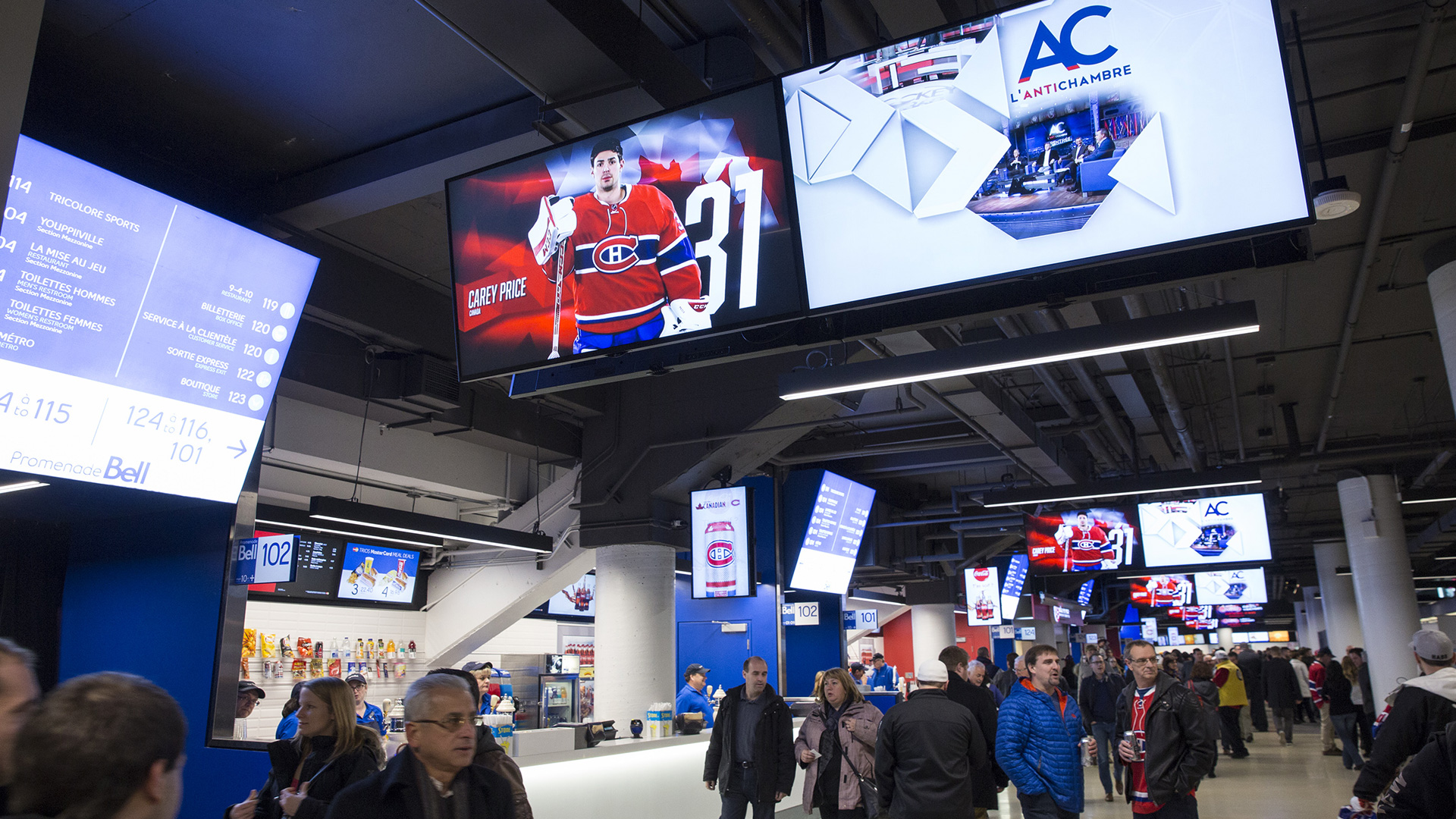 Montreal Canadiens Player Profiles Display