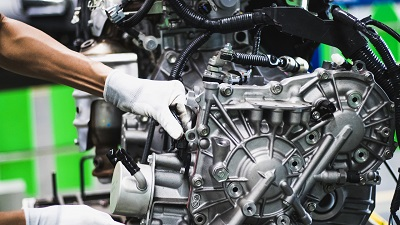 Engine assembly and test system