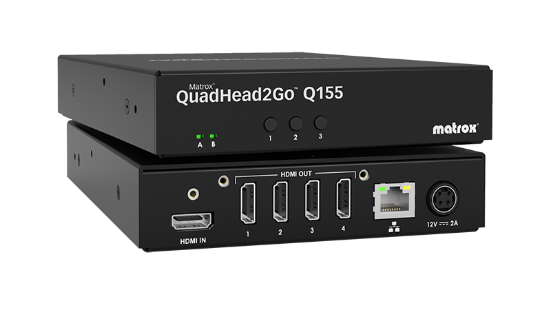 QuadHead2Go Q155 Multi-Monitor Controller Appliance