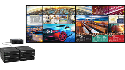 Use Multiple QuadHead2Go Appliances to Create Large-Scale Video Wall Solutions