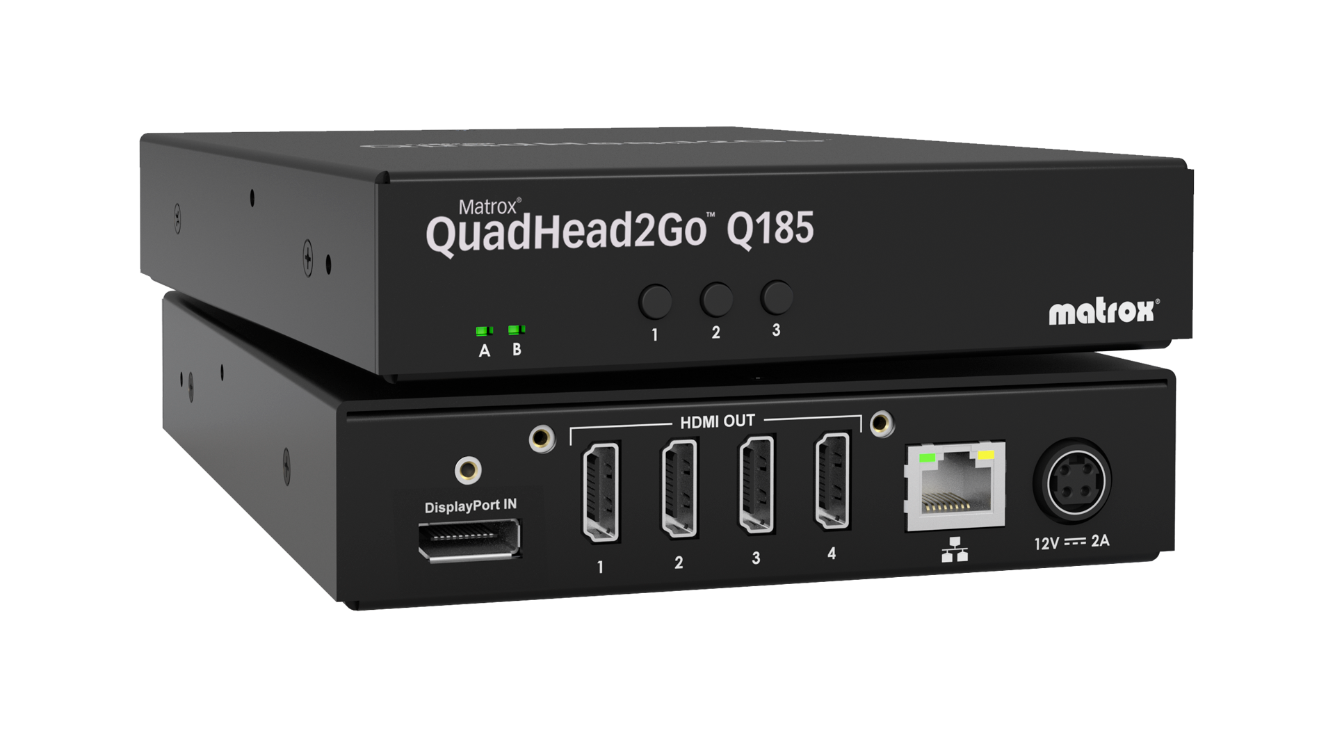 Matrox QuadHead2Go Q185 Multi-Monitor Controller Appliance
