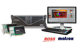 Ross Xpression and Matrox DSX LE5 cards