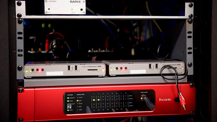 Ryerson University uses Matrox Monarch HDX H.264 encoders for news and sports webcasts.