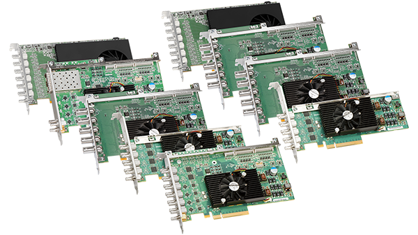 Matrox SDI Input/Output Video Cards