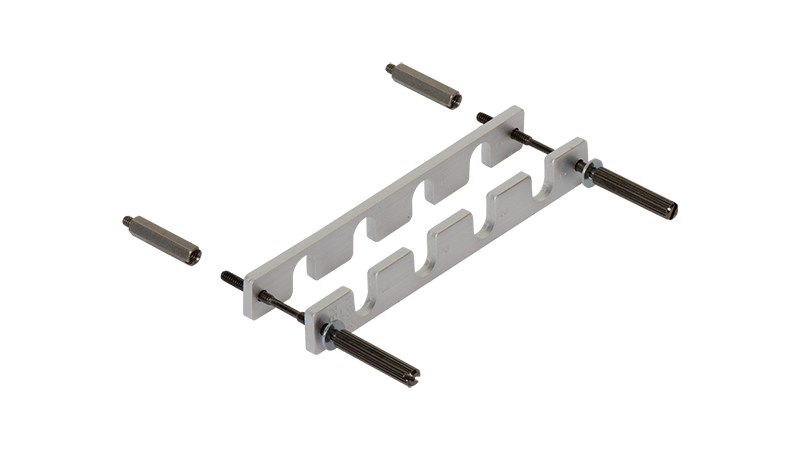 Secure cable solution for D1450