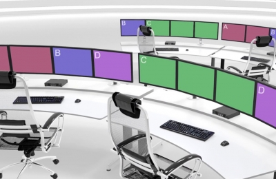 Control room showing Extio 3 Aggregator Mode