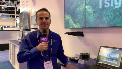 Infocomm 2019: Matrox can't stop rAVing about new QuadHead2Go
