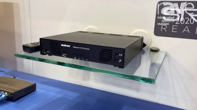 ISE 2020: Matrox Features Maevex & Monarch Series Encoders and Decoders for Web Streaming